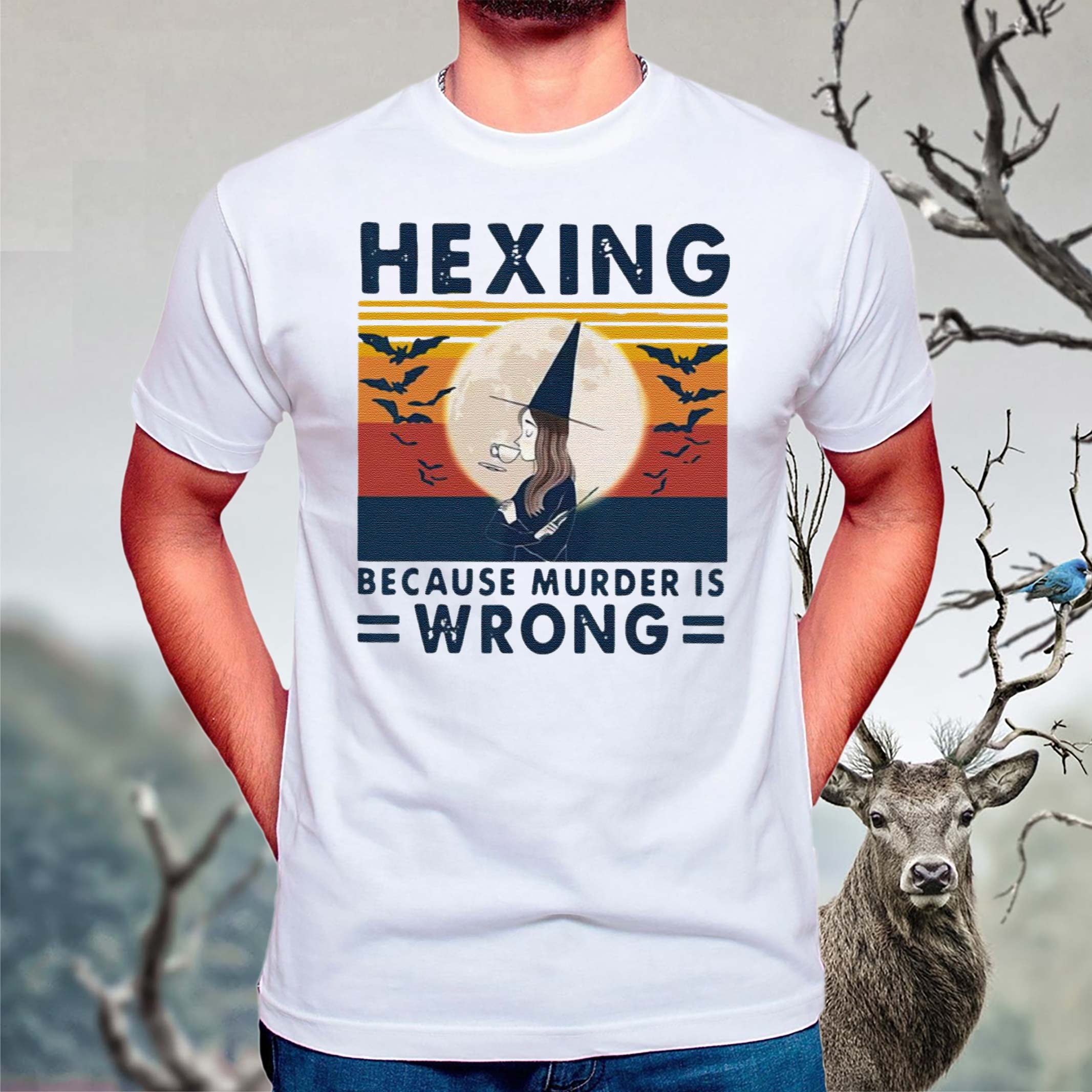 Witch-Hexing-Because-Murder-Is-Wrongs-Vintage-Halloween-Shirts