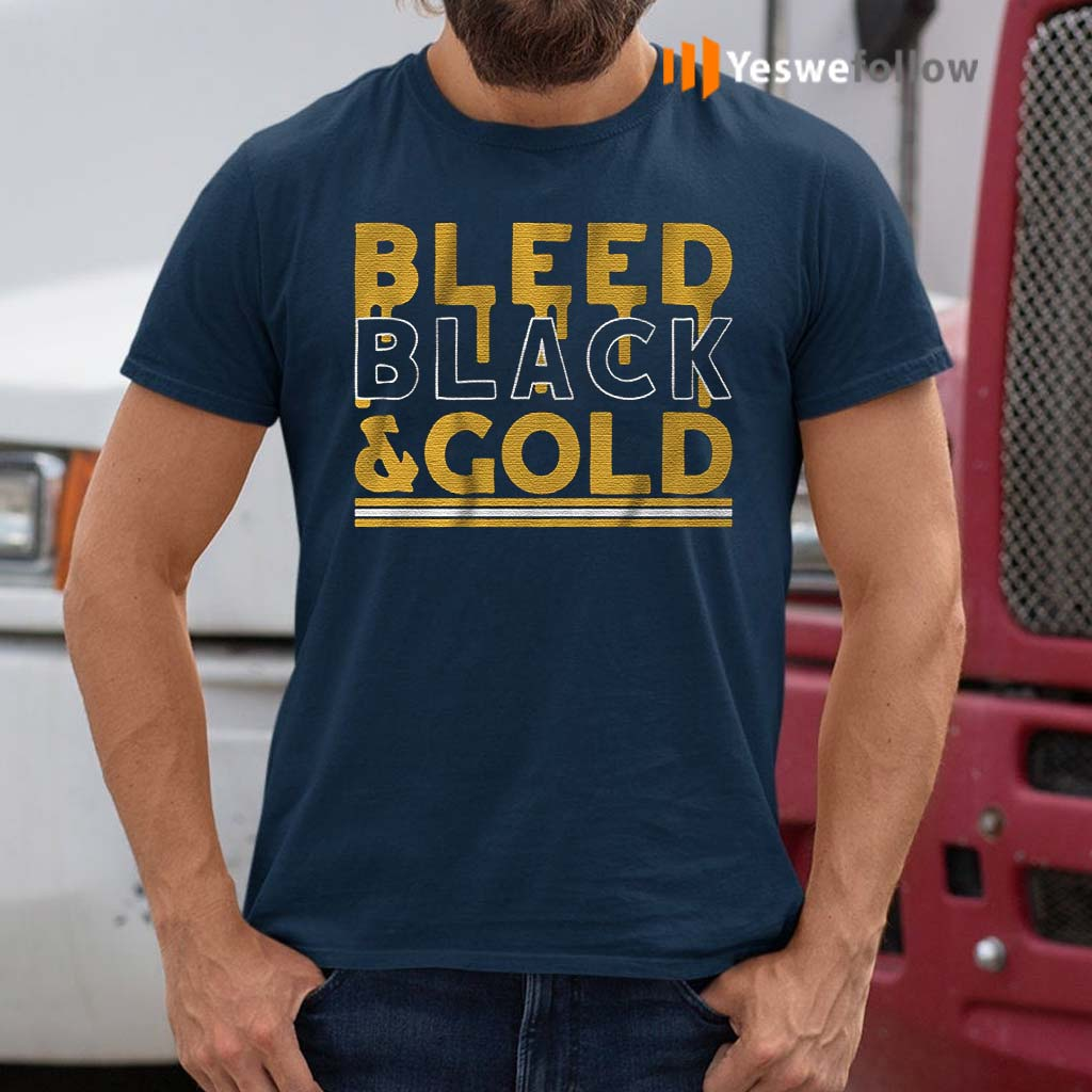 bleed-black-and-gold-t-shirt