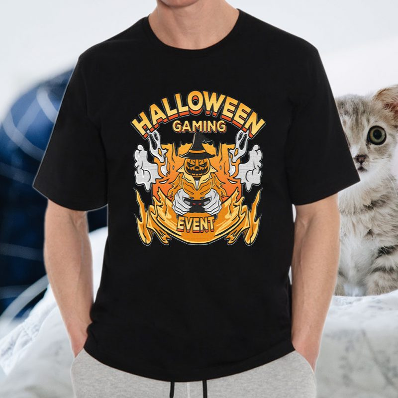 halloween gaming event gift T-Shirt