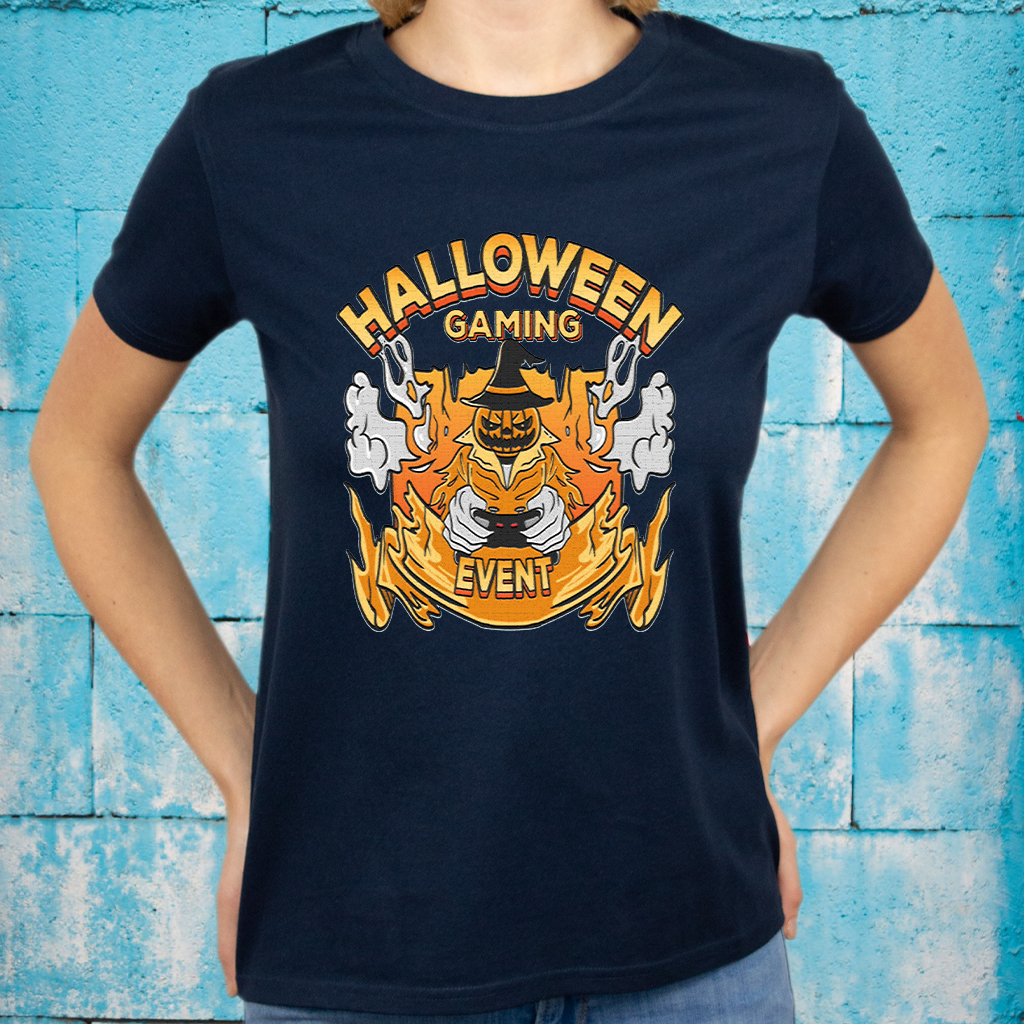 halloween gaming event gift T-Shirts