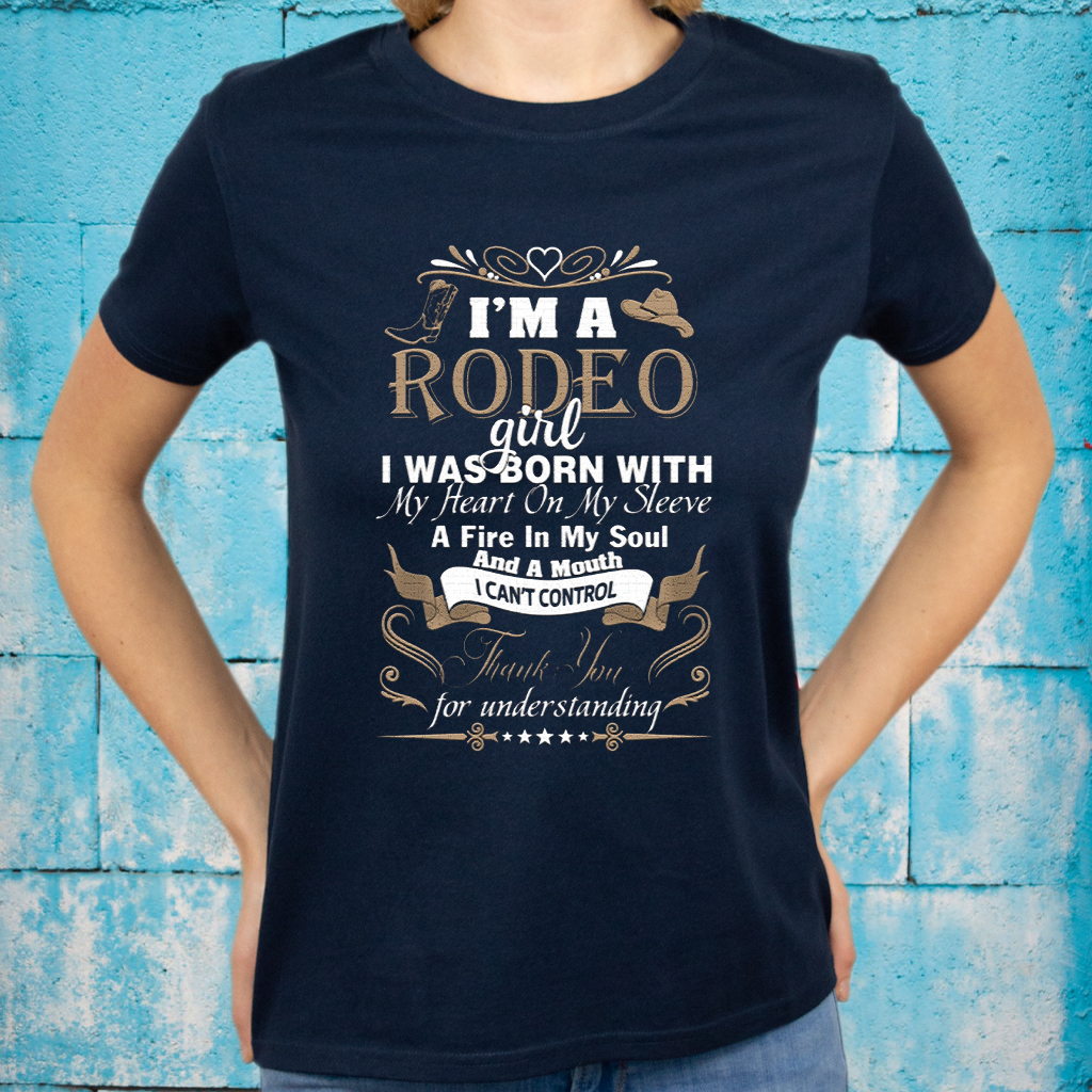 i am rodeo girl T-Shirts