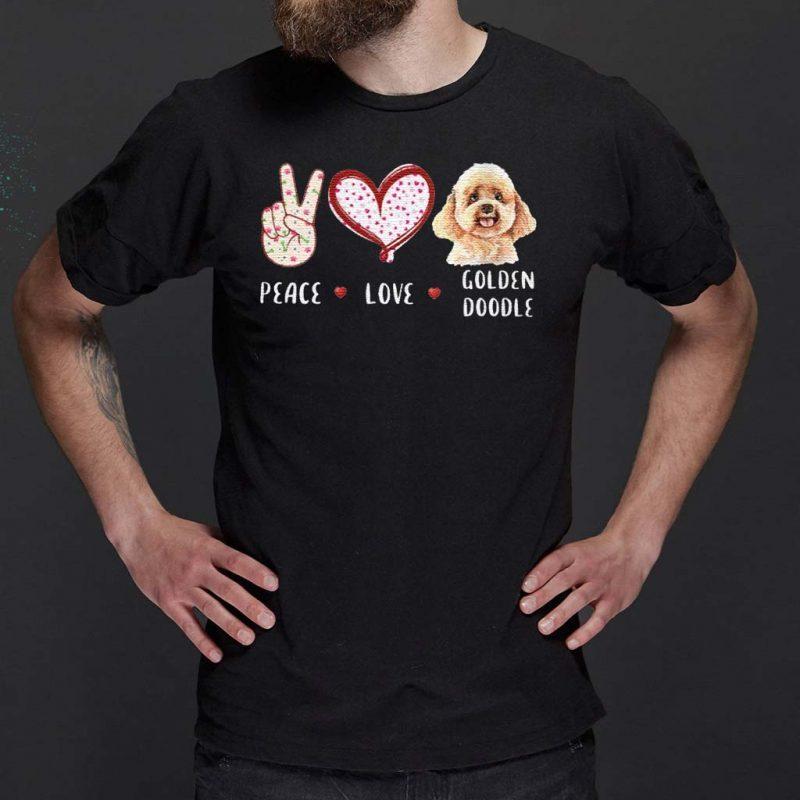 peace-love-Goldendoodle-Classic-T-Shirt