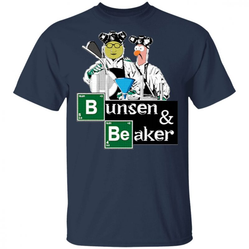 Bunsen and Beaker Breaking T-shirt