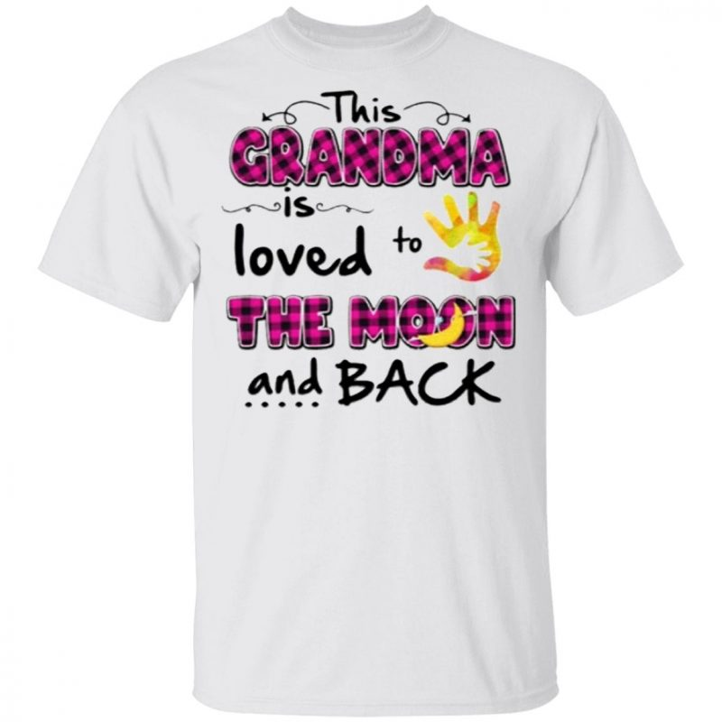 This Grandma is loved to the moon and back T-Shirt