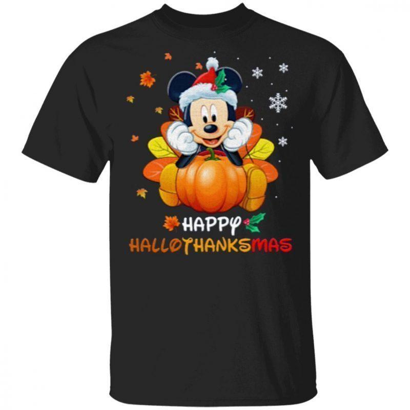 Happy hallothanksmas T-Shirt