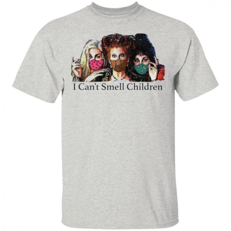 Hocus Pocus I can't smell children tshirt