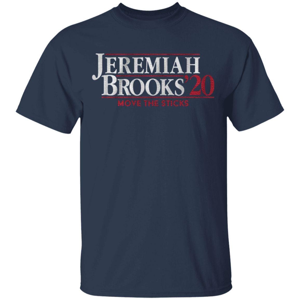 Jeremiah and Bucky Brooks t shirt