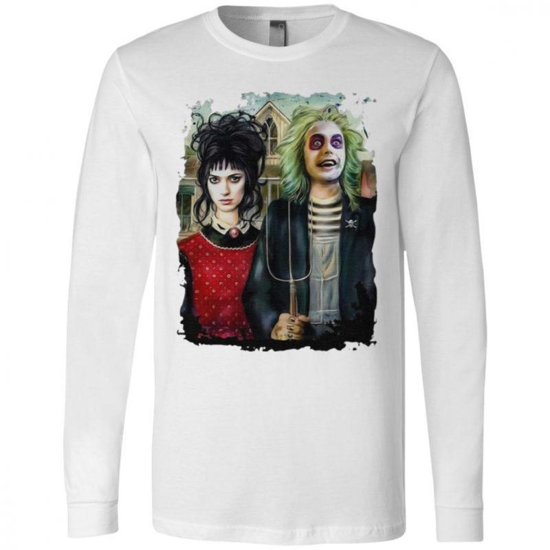 American Beetlejuice Gothic Halloween T-Shirt