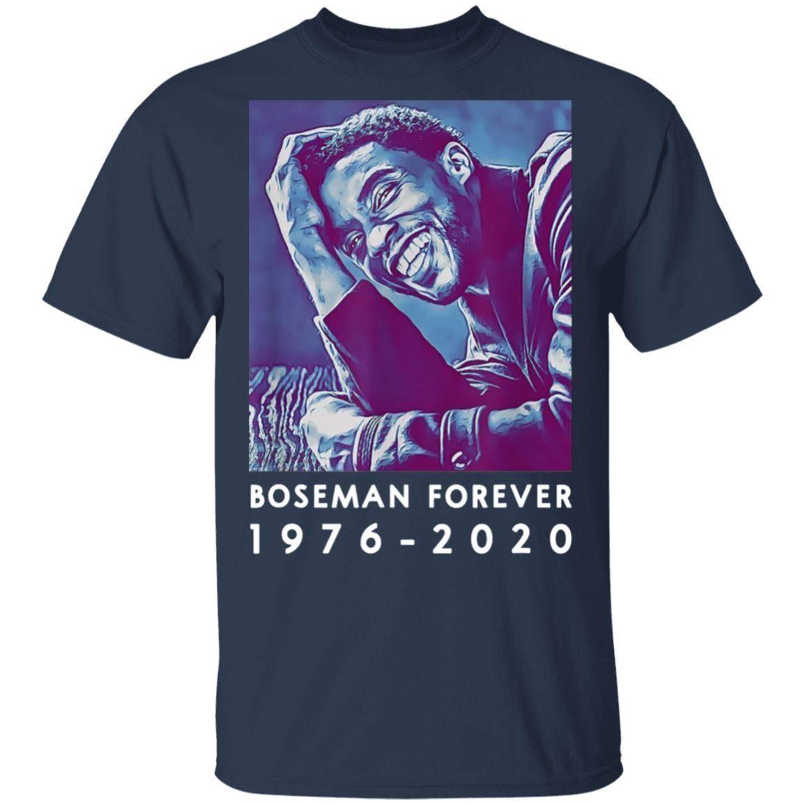 Boseman 1976-2020 Chadwick T-Shirt
