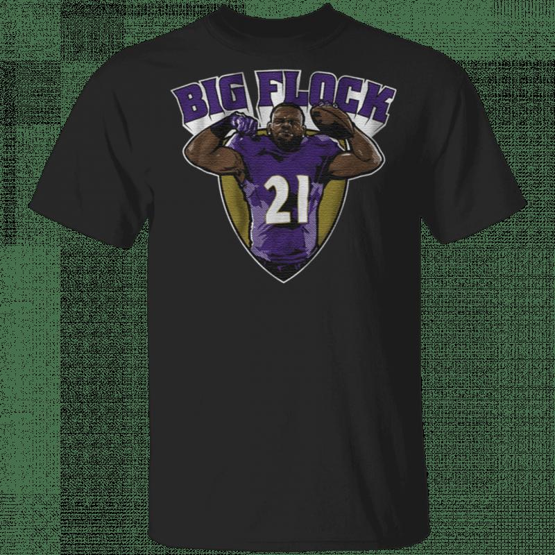 Mark Ingram in Baltimore big flock t shirt