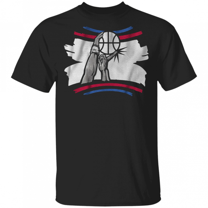 the finger block t shirt