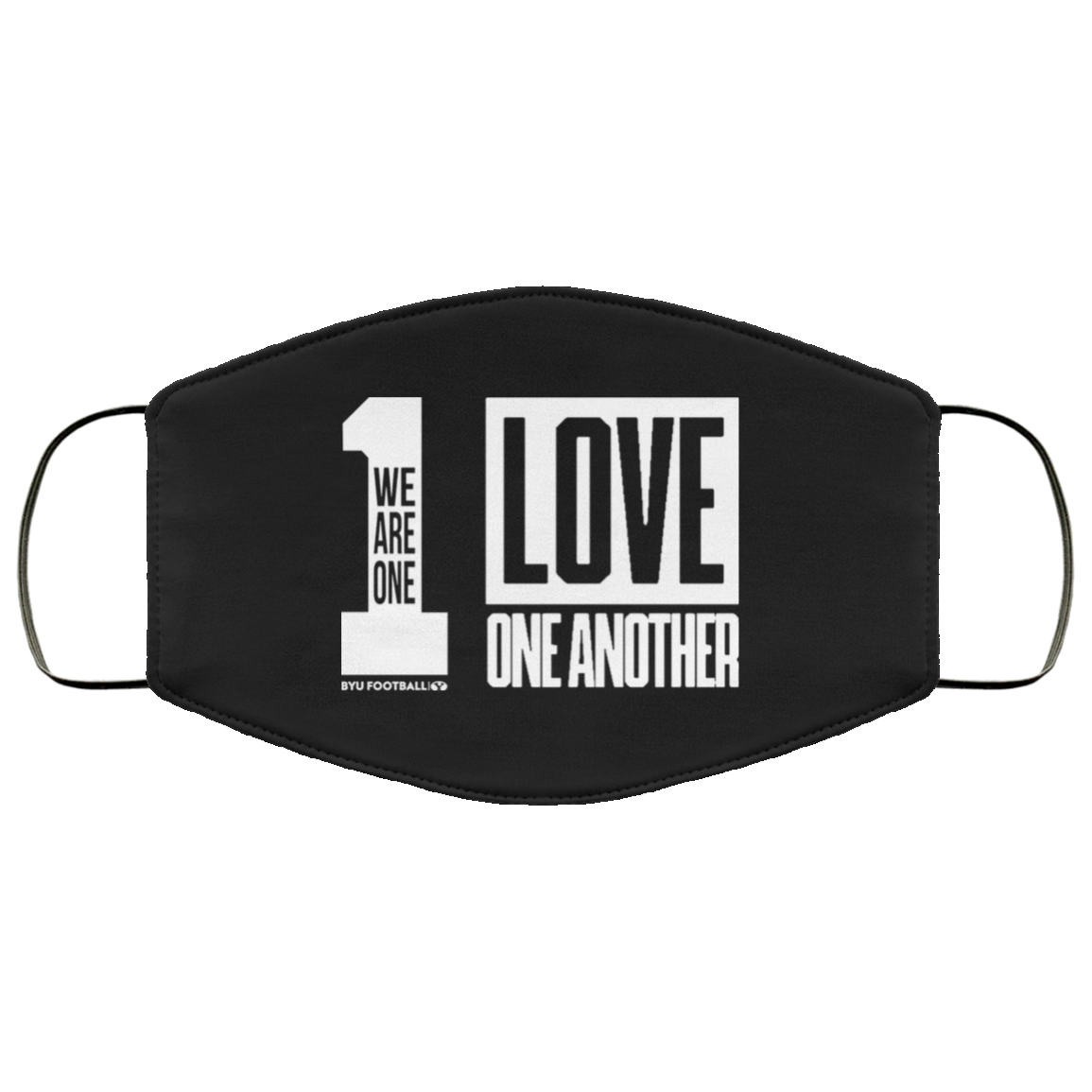 Byu love one another Face Mask – BYU Football Wearing Face Mask