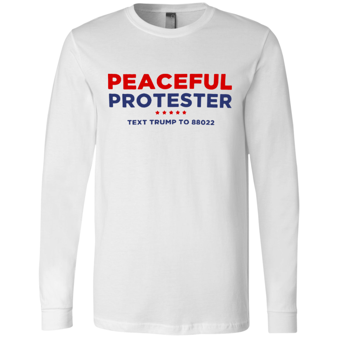 Peaceful protester shirt
