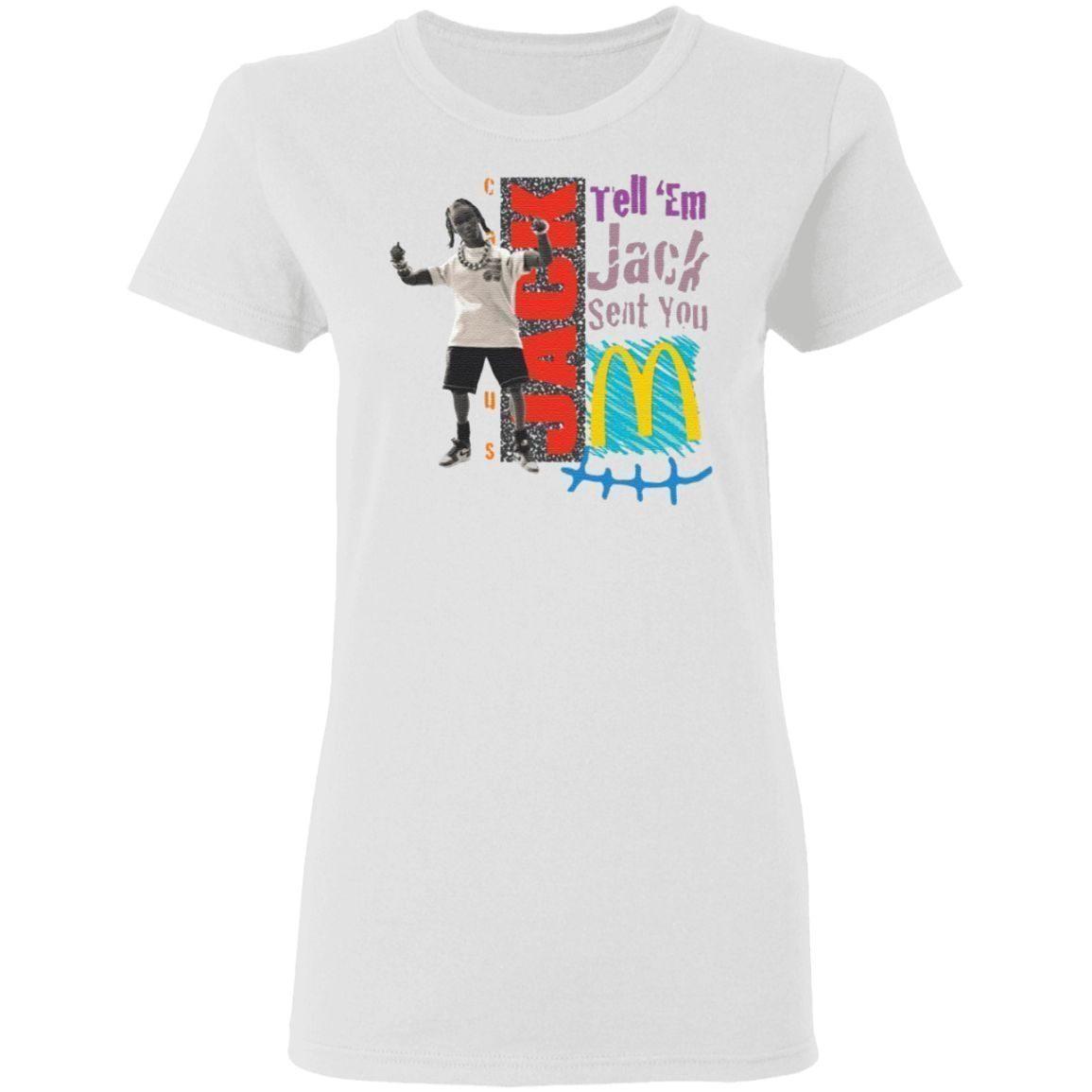 Travis Scott Drops Merch Jack Smile T-Shirt