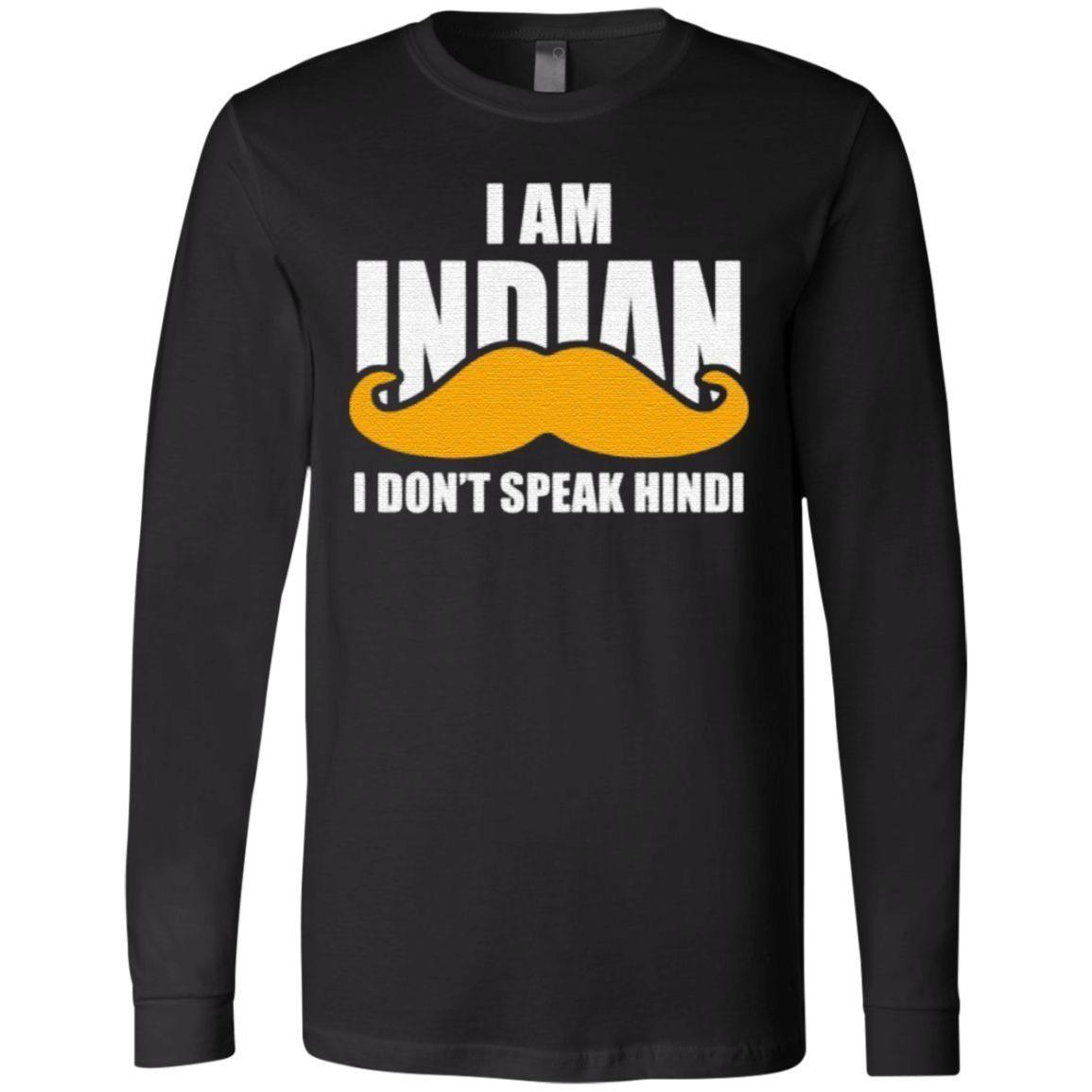 I Am Indian I Don't peak Hindi T Shirt