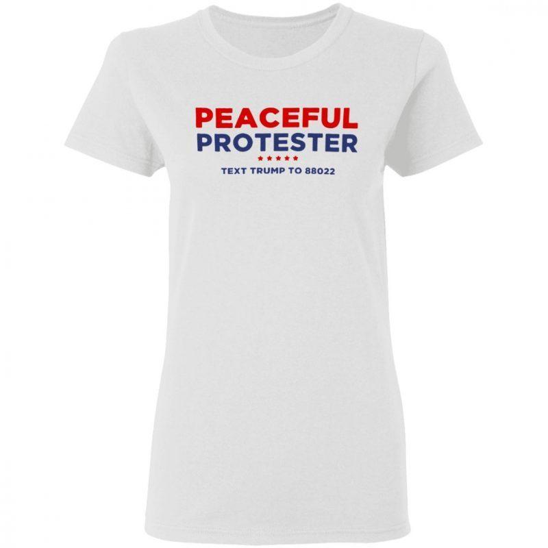 Peaceful Protester Tee Shirt