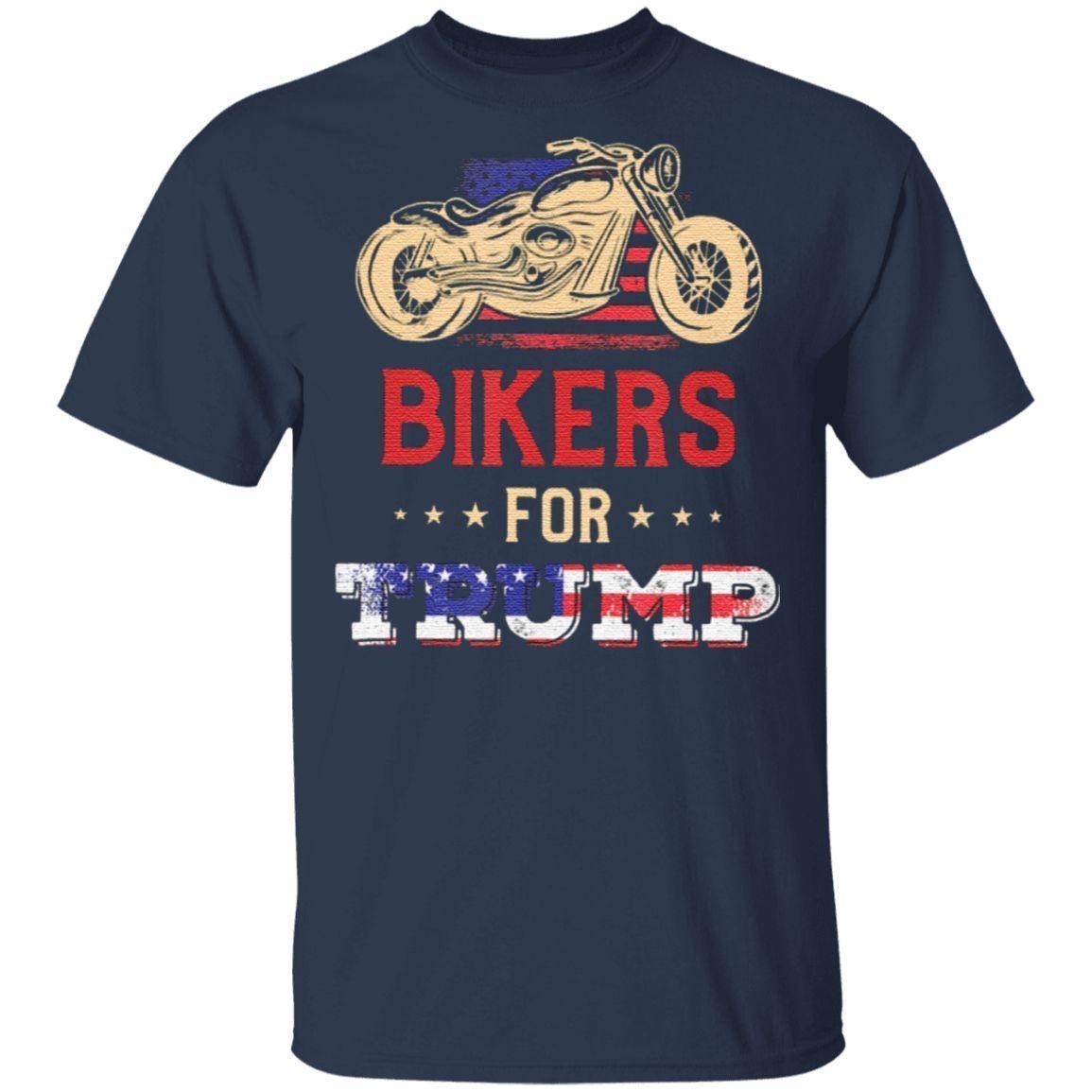 Bikers For Trump Donald Trump Supporter Classic T-Shirt