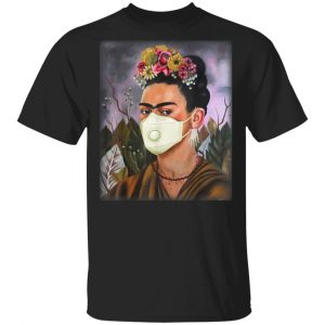 Frida Mask Kahlo Art Girl Women T-Shirt
