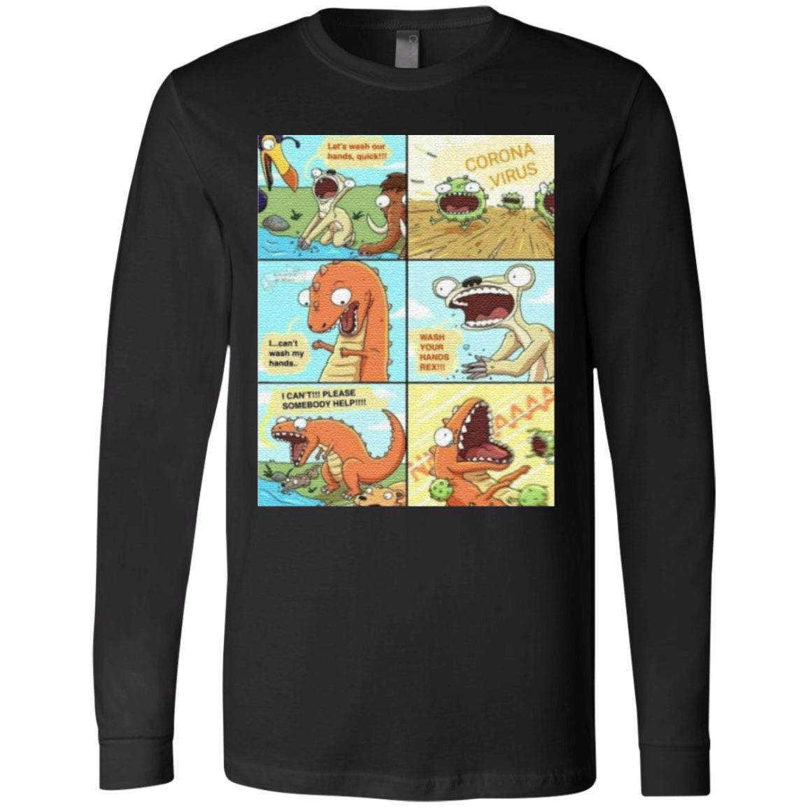 Wash Your Hands Rex Tiktok T-Shirt