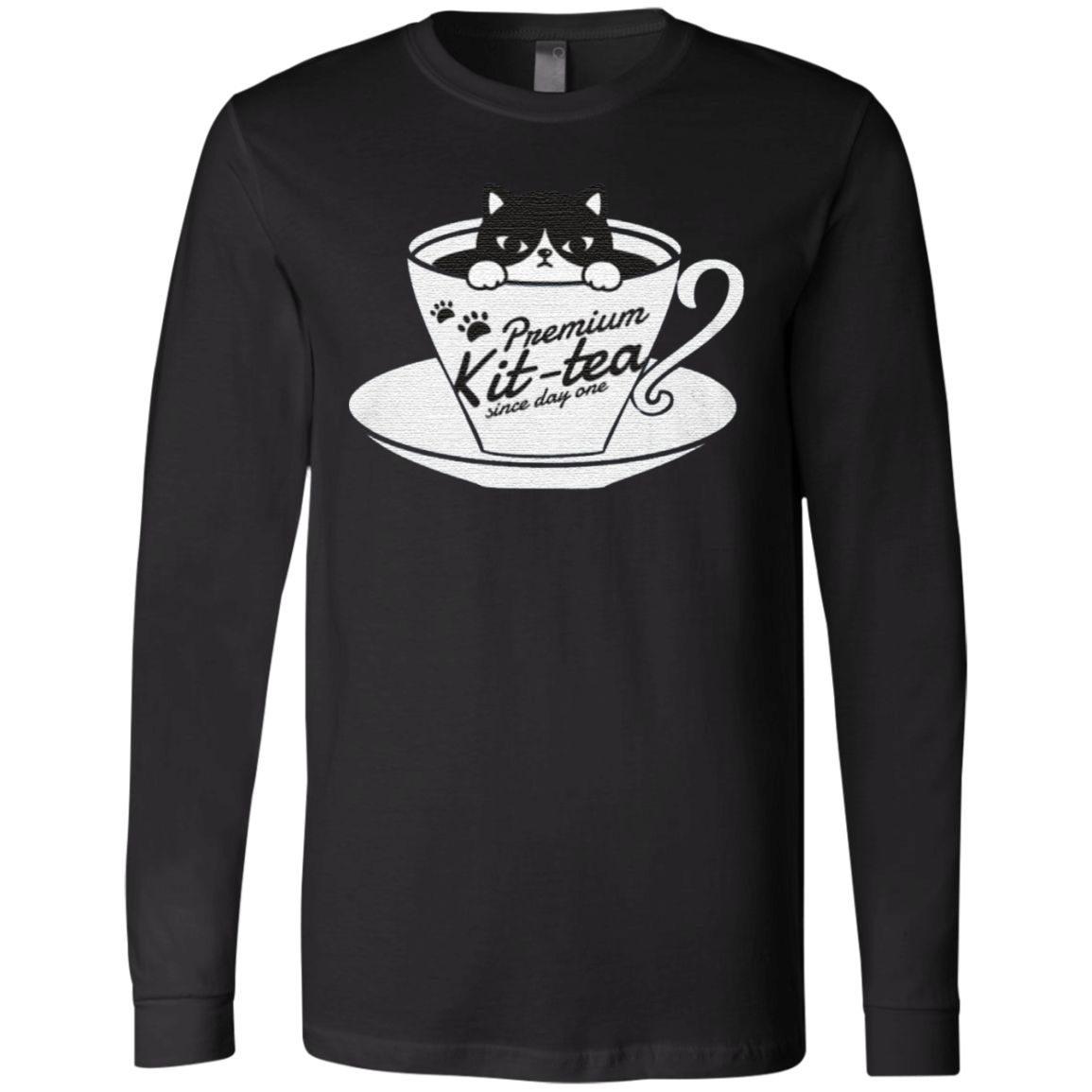 Premium Kit-tea Since Day Funny TShirt
