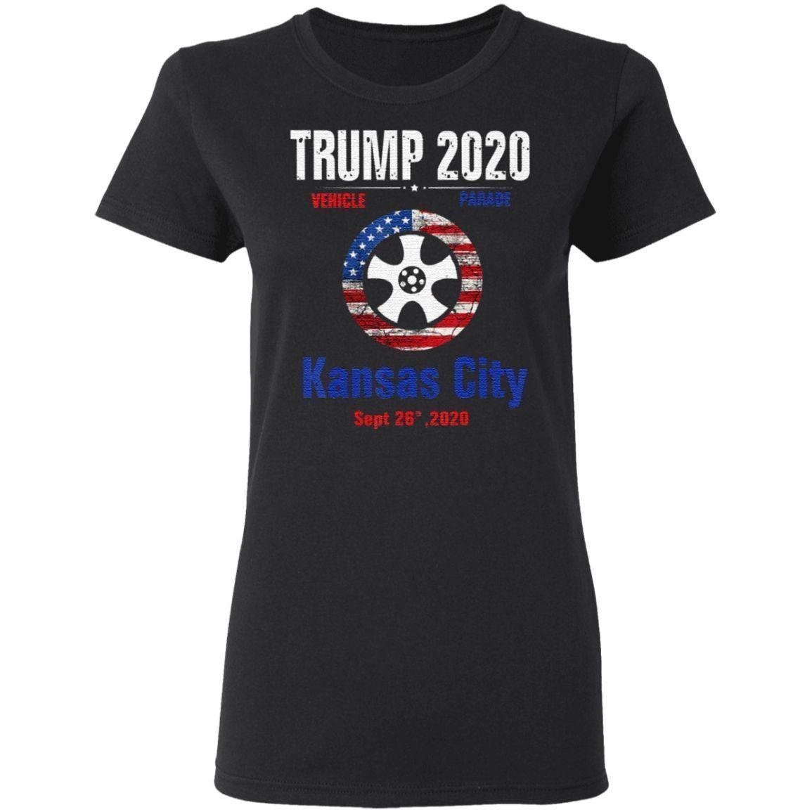 Trump 2020 Kansas City Vehicule Parade T-Shirt
