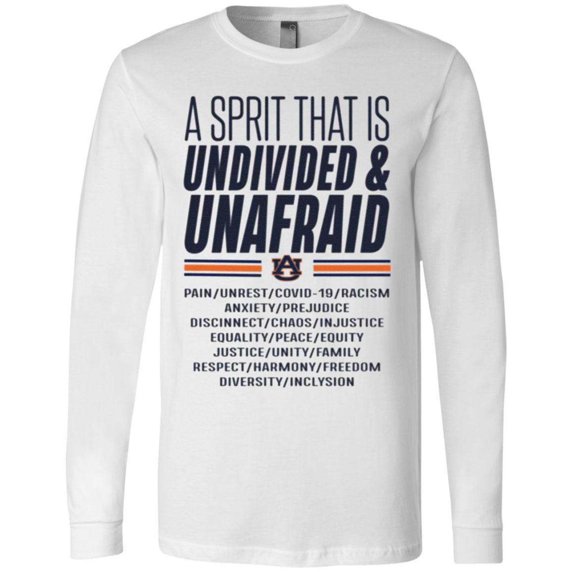Undivided & Unafraid SAAC T-Shirt