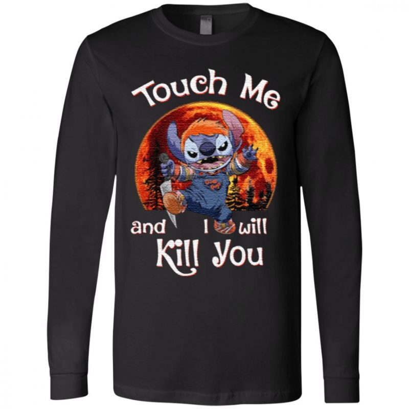 Stitch Chucky Touch Me And I Will Kill You Halloween Shirt