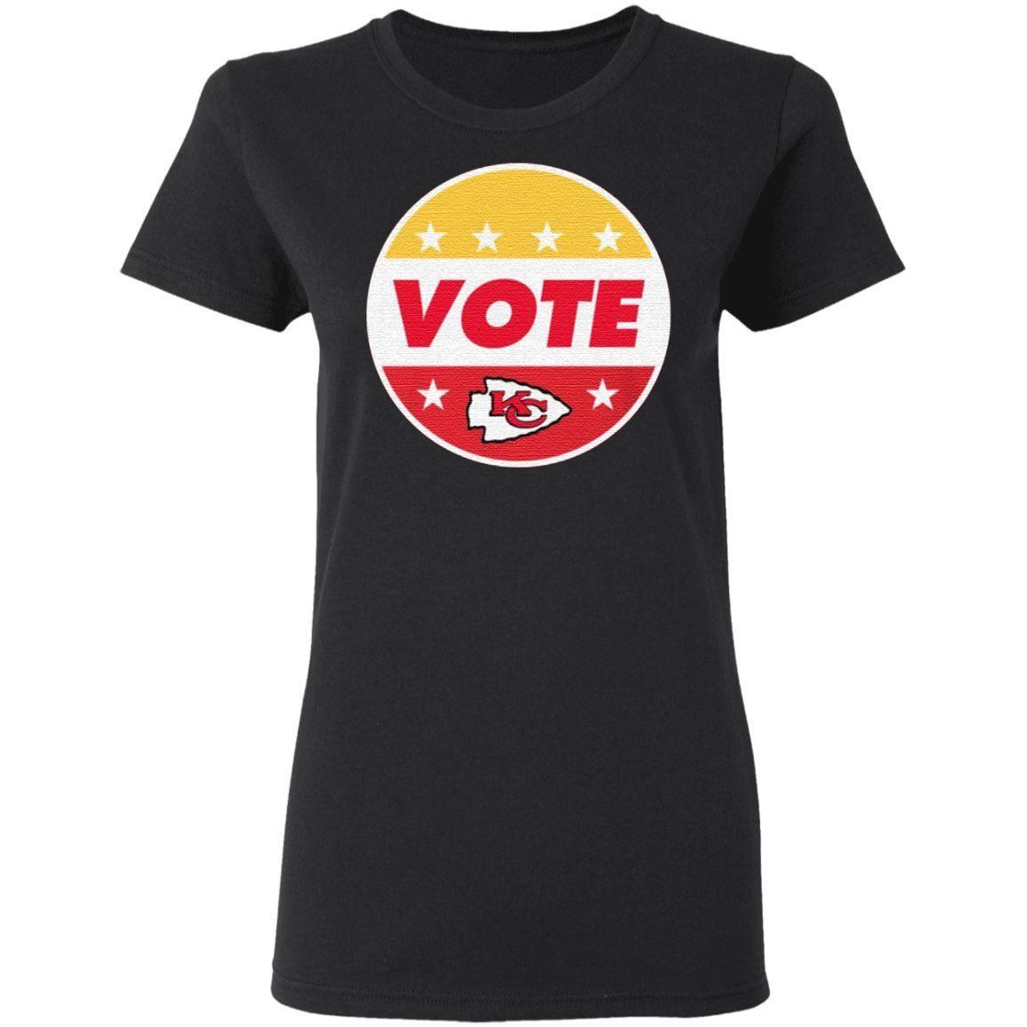 Patrick Mahomes Kansas City Chiefs Vote T Shirt