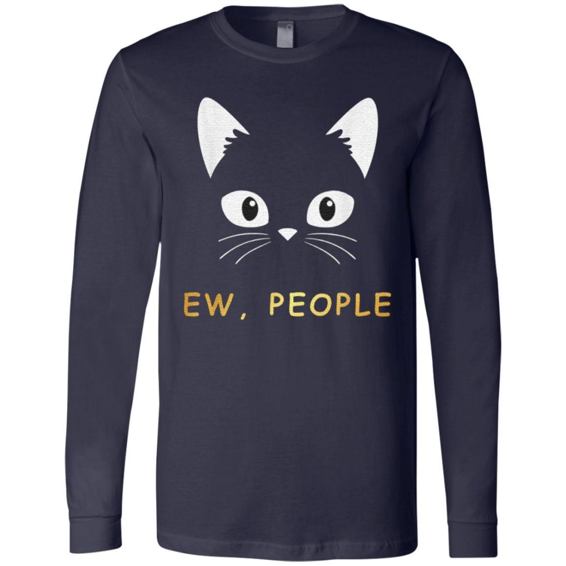 Ew People Meowy Cat T Shirt
