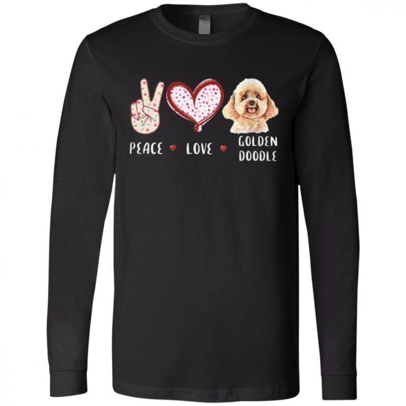 peace love Goldendoodle Classic T-Shirt