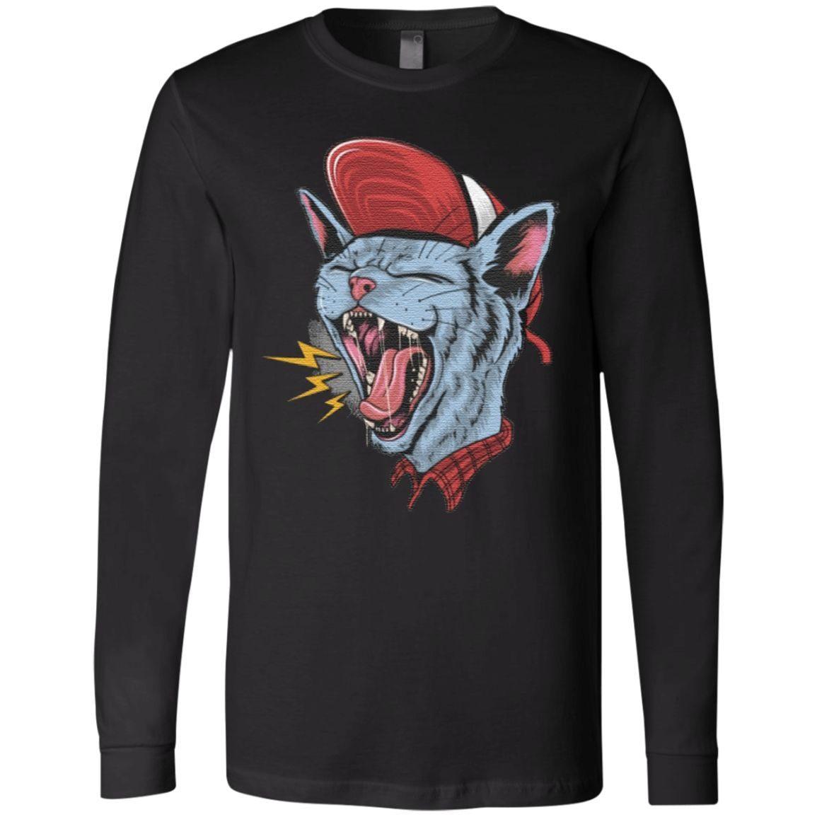 Rock n roll cat Classic T-Shirt