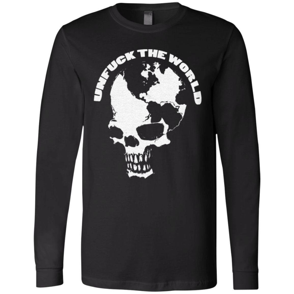 UnFuck The World Skull T-Shirt
