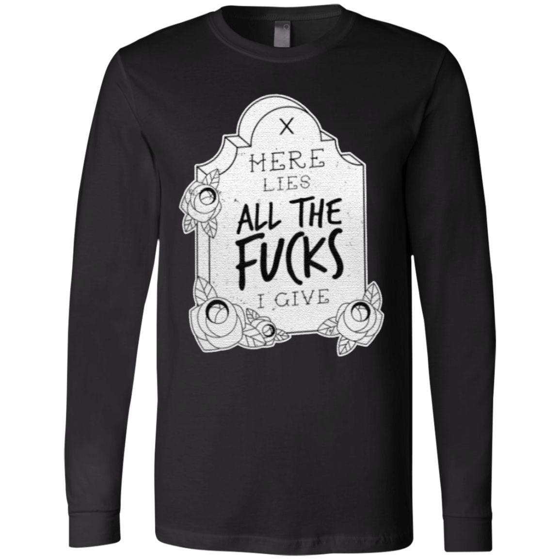 Sarcastic Tombstone Retro Aesthetic Goth T-Shirt