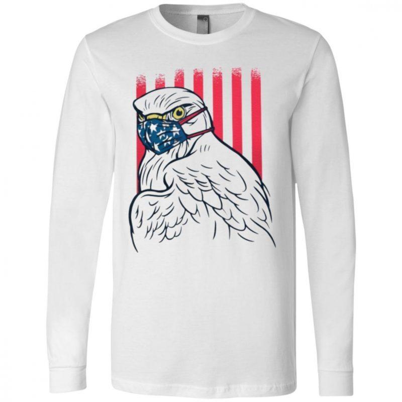 American Eagle mask quarantine T-Shirt
