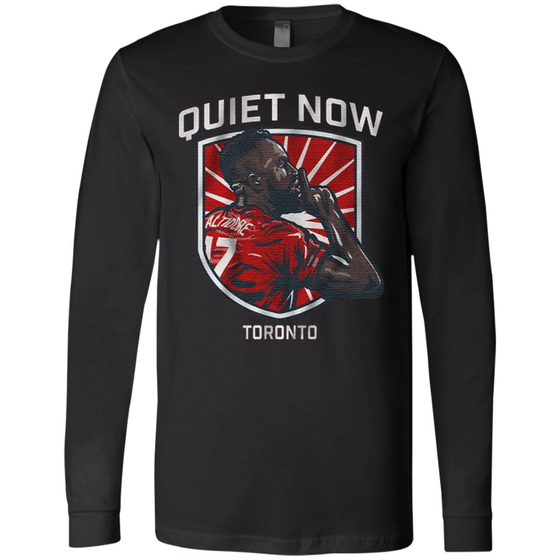 Quiet Now Toronto T Shirt