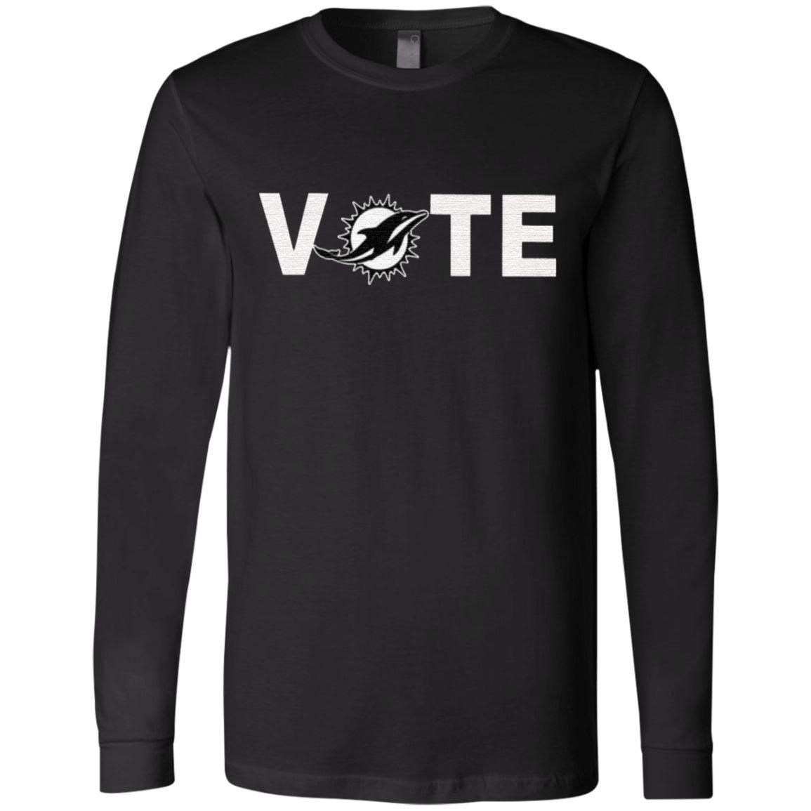 miami dolphins vote t shirt