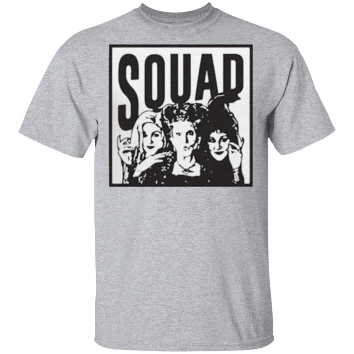 Halloween Hocus Pocus sanderson sisters squad t shirt