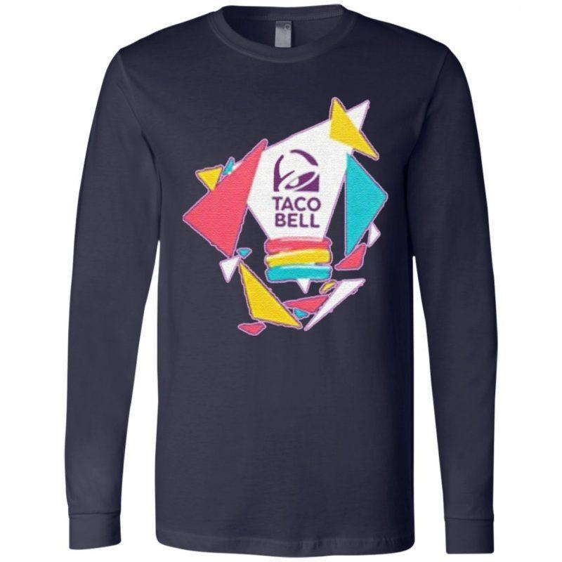 Taco Bell Confetti Logo Adult T-Shirt