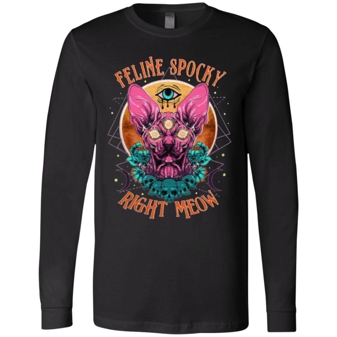 Feline Spooky Right Meow T Shirt