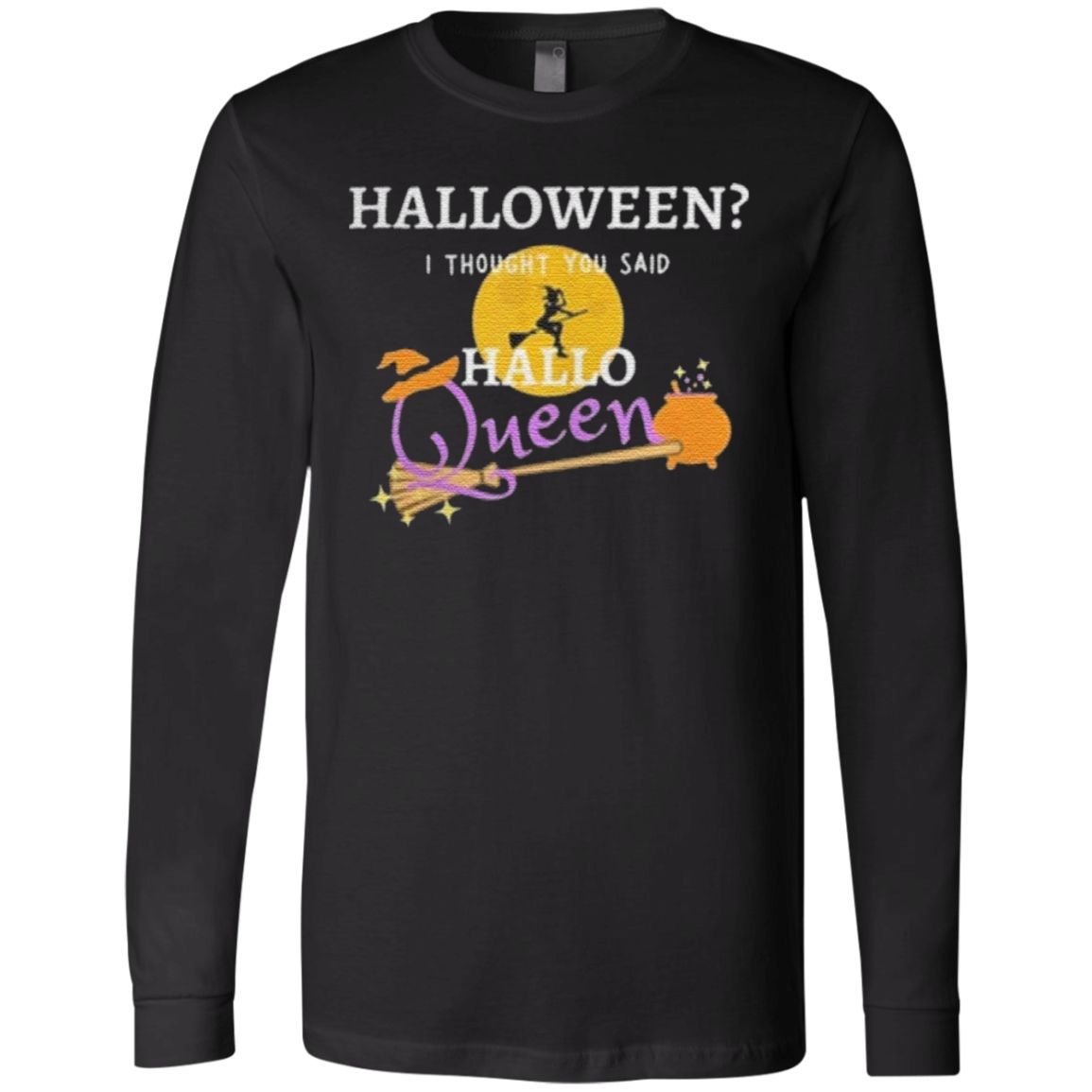 Halloween Queen Flying Witch t shirt