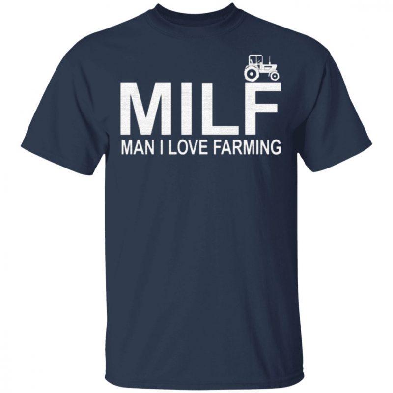 Milf Man I Love Farming Premium T-Shirt
