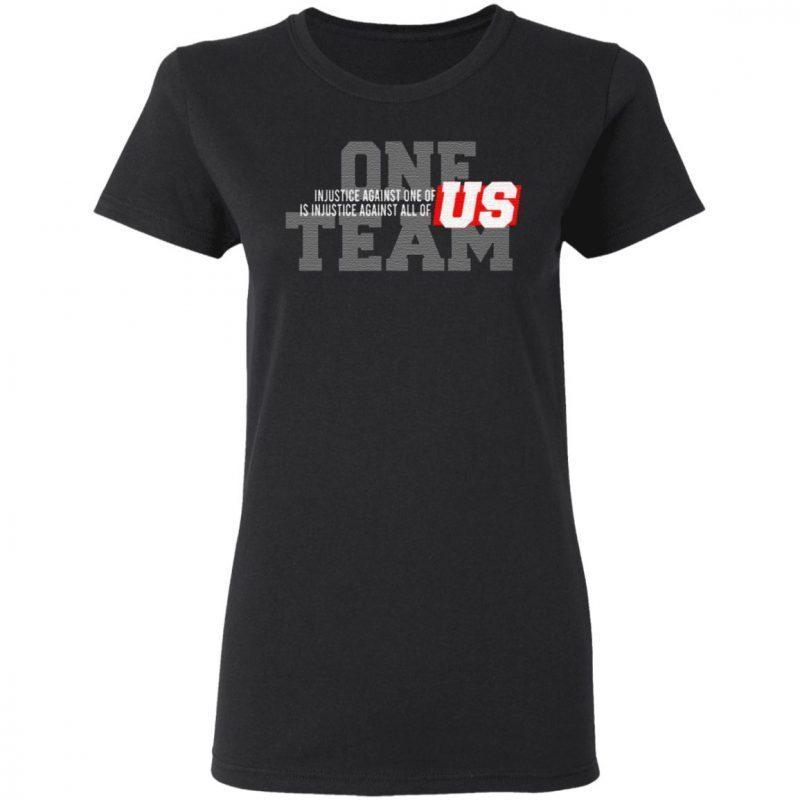 NFL End Racism T Shirt