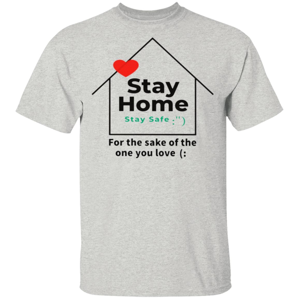 Stay home in a tshirt
