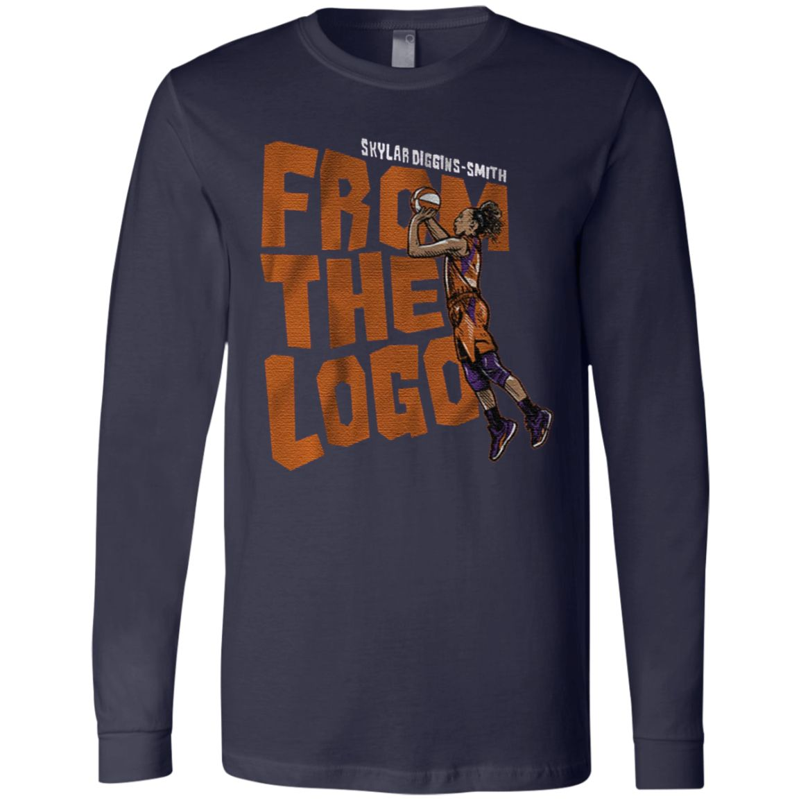 Skylar Diggins Smith From The Logo T Shirt