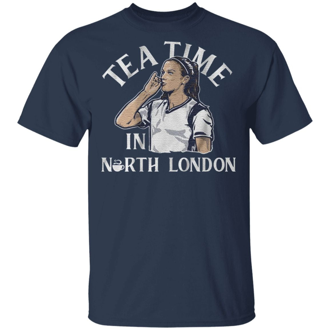 tea time in north london t shirt