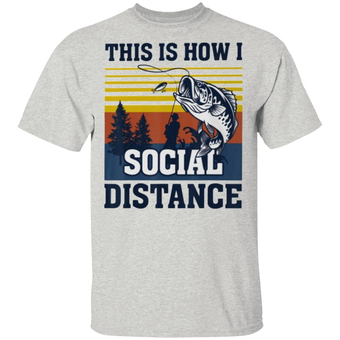 This Is How I Social Distance T Shirt