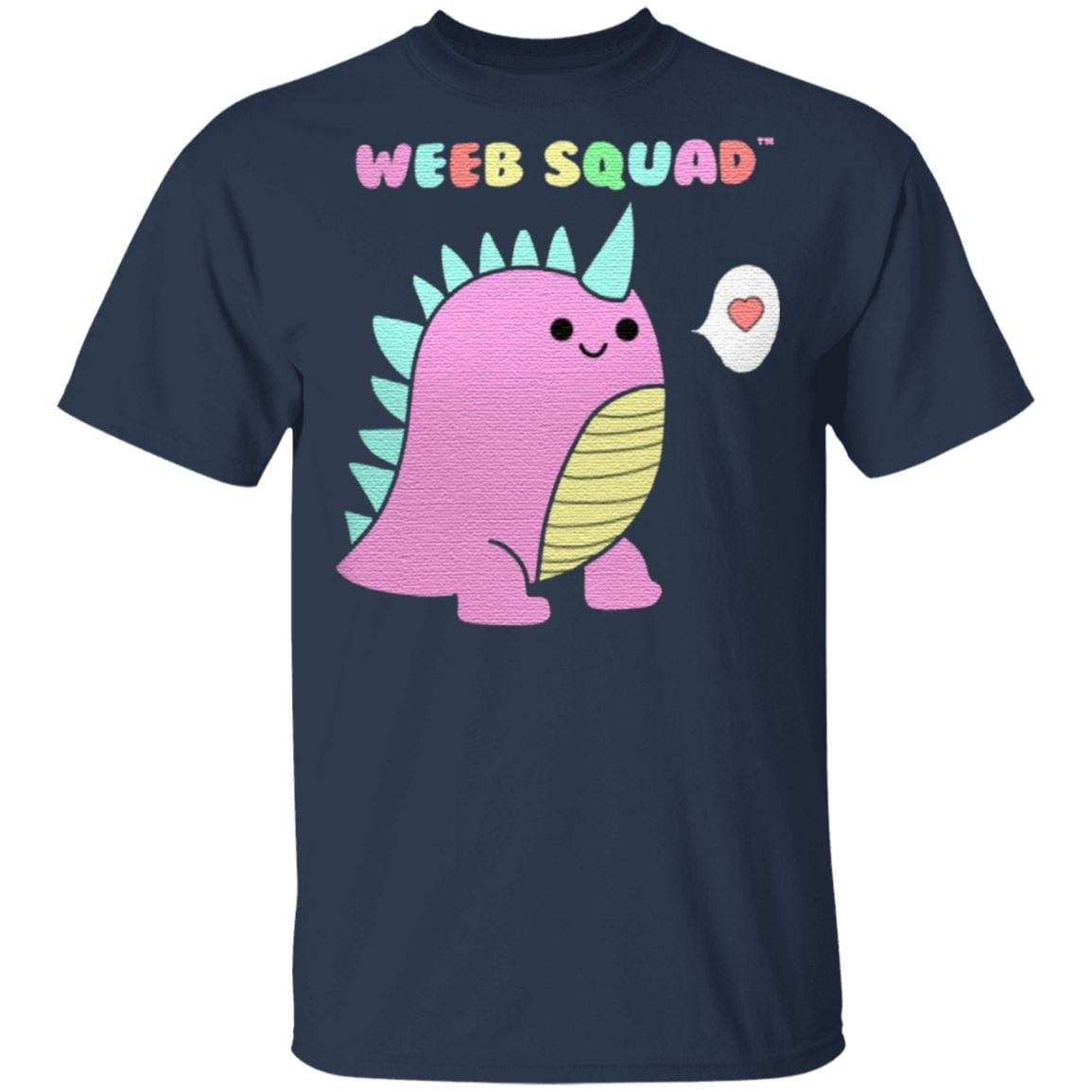 Dino Weeb Squad dinosaur weeaboo kawaii T Shirt