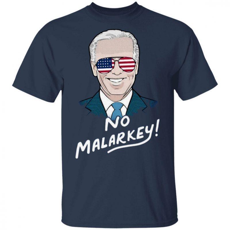 no malarkey biden shirt