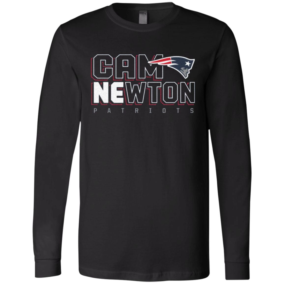 Cam Newton New England Patriots T-Shirt