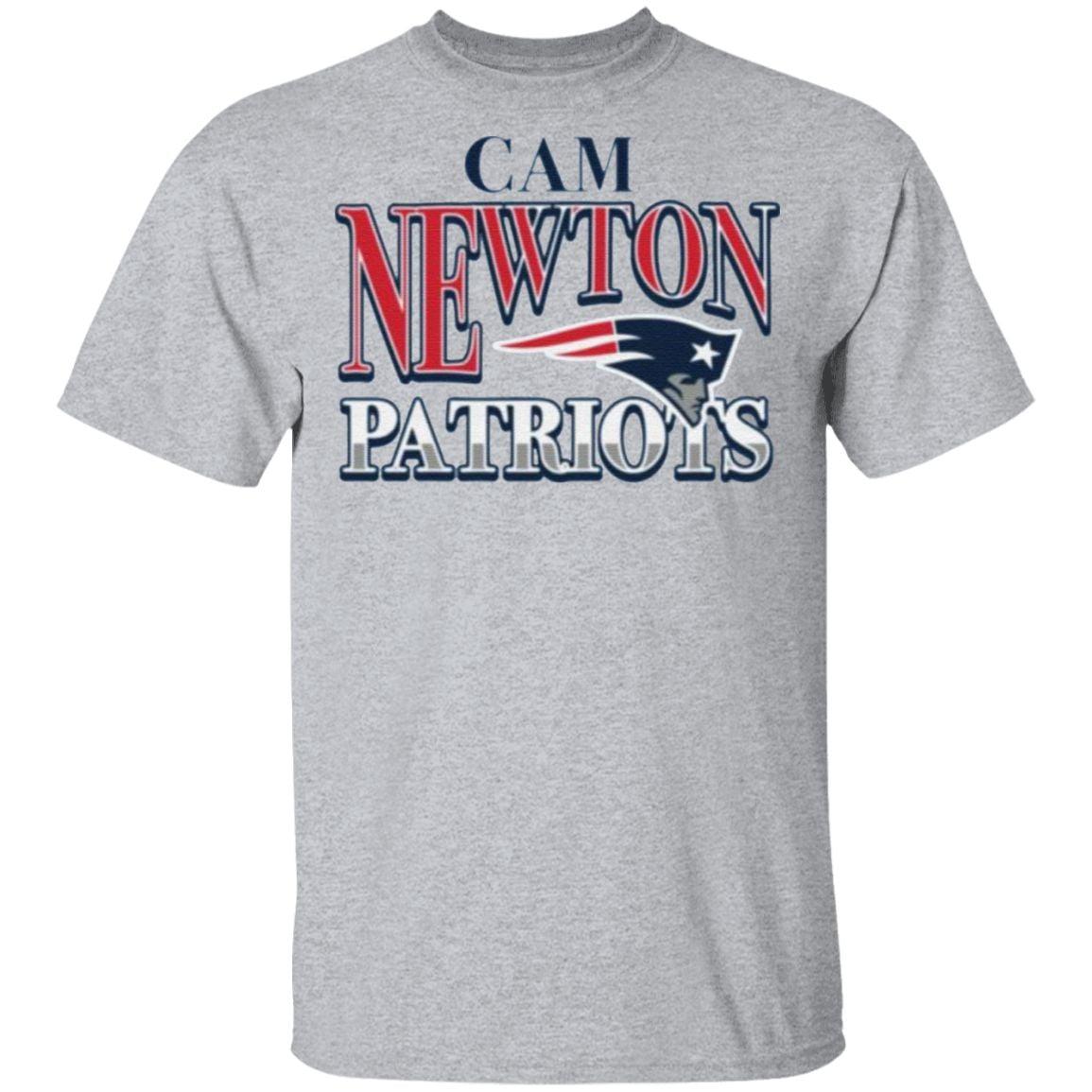 New England Patriots Cam Newton T-Shirt